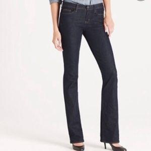 J.Crew Women Bootcut Dark Wash Jeans